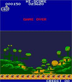 Game Over Screen for Battle Cruiser M-12.