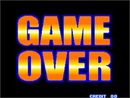 Game Over Screen for Battle Flip Shot.