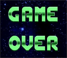 Game Over Screen for Battle Toads.