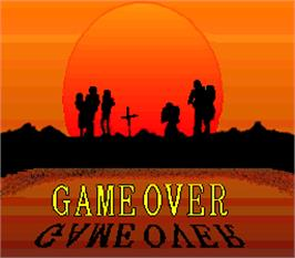 Game Over Screen for Battlecry.