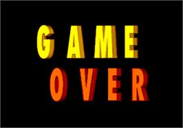 Game Over Screen for Beach Festival World Championship 1997.