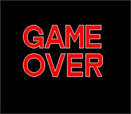 Game Over Screen for Best Of Best.