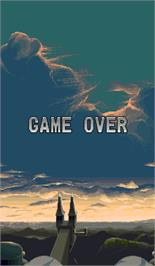 Game Over Screen for Big Bang.