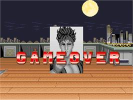 Game Over Screen for Big Fight - Big Trouble In The Atlantic Ocean.