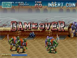 Game Over Screen for Blade Master.