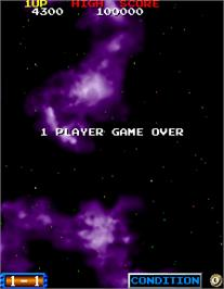 Game Over Screen for Blast Off.