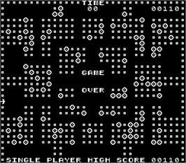 Game Over Screen for Blasto.