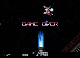Game Over Screen for Blaze On.