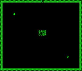Game Over Screen for Blockade.