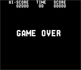 Game Over Screen for Blue Shark.