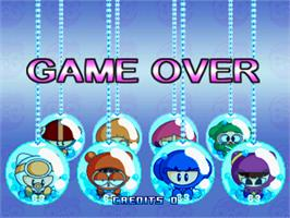 Game Over Screen for BnB Arcade.
