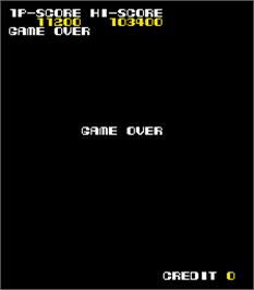 Game Over Screen for Booby Kids.