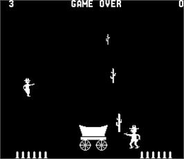Game Over Screen for Boot Hill.