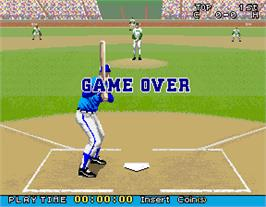 Game Over Screen for Bottom of the Ninth.