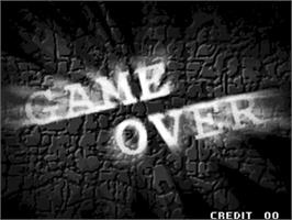 Game Over Screen for Breakers Revenge.