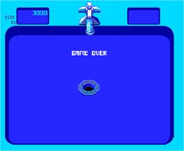 Game Over Screen for Bubbles.