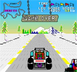 Game Over Screen for Buggy Boy Junior/Speed Buggy.