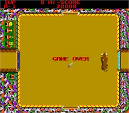 Game Over Screen for Bullfight.