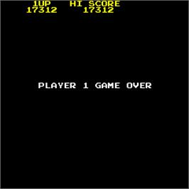 Game Over Screen for Burnin' Rubber.