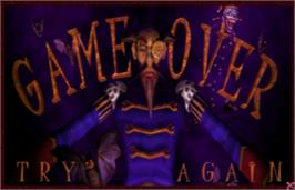 Game Over Screen for CarnEvil.