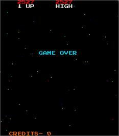 Game Over Screen for Catacomb.