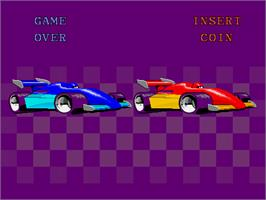 Game Over Screen for Championship Sprint.