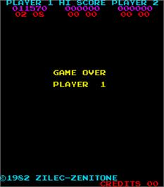 Game Over Screen for Check Man.