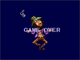 Game Over Screen for China Town.