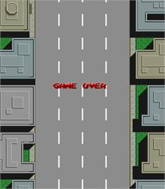 Game Over Screen for City Bomber.