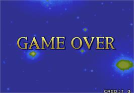 Game Over Screen for Cleopatra Fortune.