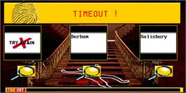 Game Over Screen for Cluedo.