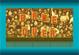 Game Over Screen for Clutch Hitter.