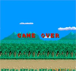 Game Over Screen for Cobra-Command.