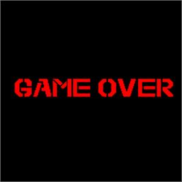 Game Over Screen for Combat Hawk.