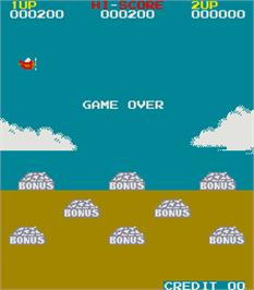 Game Over Screen for Commando.