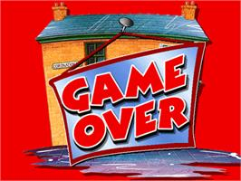 Game Over Screen for Coronation Street Quiz Game.