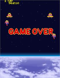 Game Over Screen for Cosmo Gang the Video.