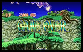 Game Over Screen for Cotton 2.
