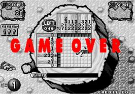 Game Over Screen for Croquis.