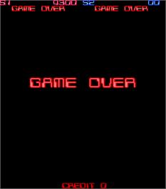Game Over Screen for Cybattler.