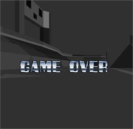 Game Over Screen for Cyber Sled.