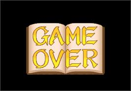 Game Over Screen for Daitoride.