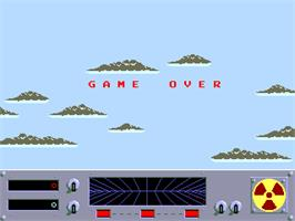 Game Over Screen for Danger Zone.
