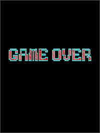 Game Over Screen for Dangun Feveron.