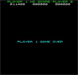 Game Over Screen for Dazzler.