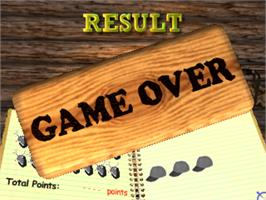 Game Over Screen for Deer Hunting USA V2.