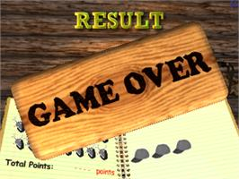 Game Over Screen for Deer Hunting USA V4.2.