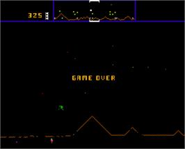Game Over Screen for Defence Command.
