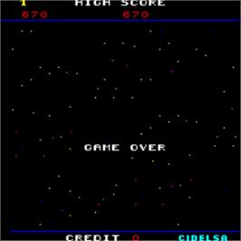 Game Over Screen for Destroyer.