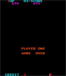 Game Over Screen for Devil Fish.